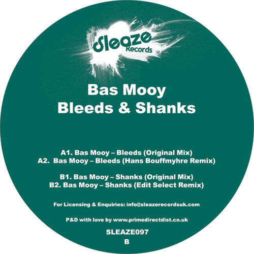 Bas Mooy - Bleeds & Shanks - Unearthed Sounds