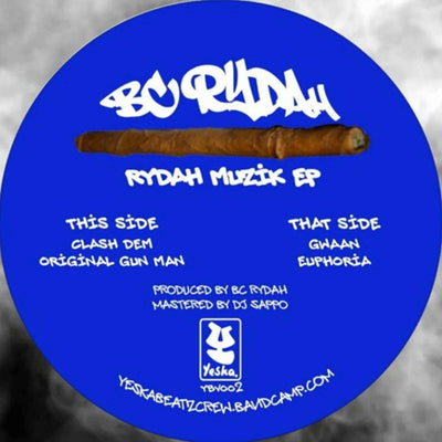 BC Rydah - Rydah Music EP - Unearthed Sounds