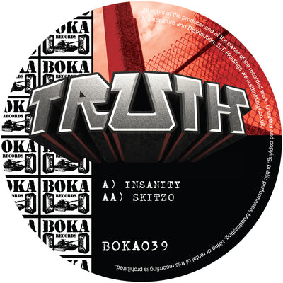 Truth - Insanity / Skitzo - Unearthed Sounds