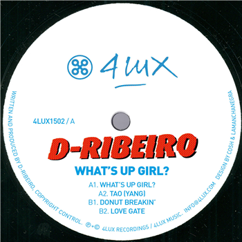 D-Ribeiro - What's Up Girl? - Unearthed Sounds, Vinyl, Record Store, Vinyl Records