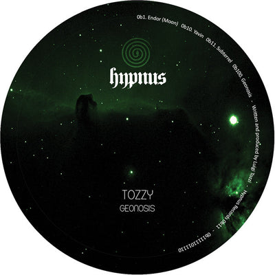 Tozzy - Geonosis (Black Vinyl Repress) - Unearthed Sounds, Vinyl, Record Store, Vinyl Records