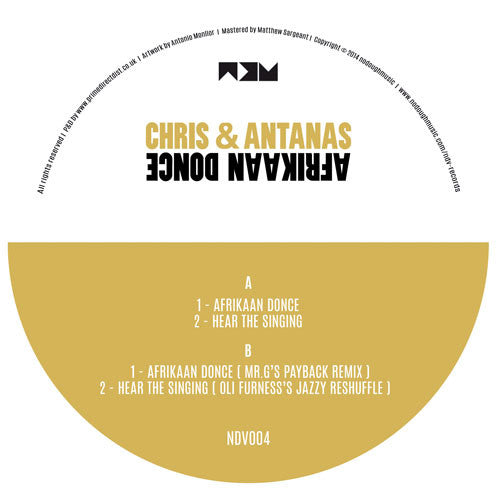 Chris & Antanas - Afrikaan Donce - Unearthed Sounds