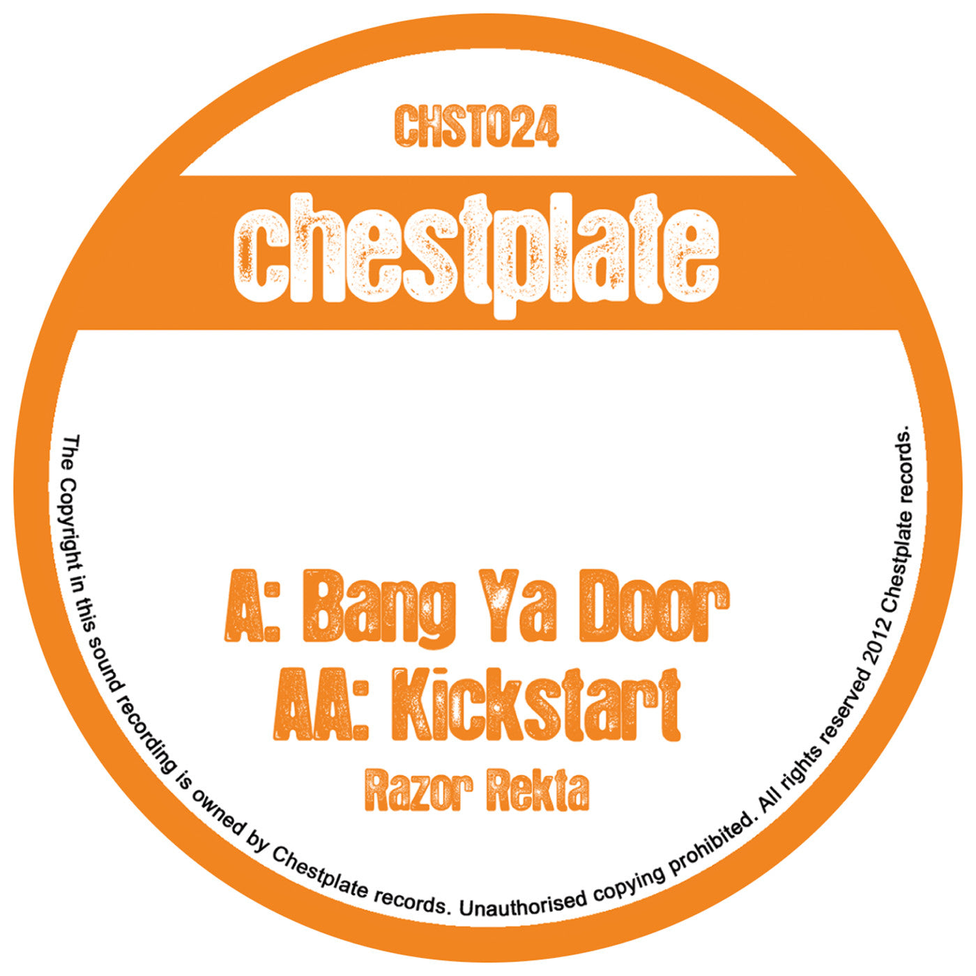 Razor Rekta - Bang Ya Door/ Kick Start - Unearthed Sounds