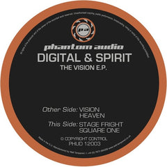 Digital & Spirit - The Vision EP - Unearthed Sounds
