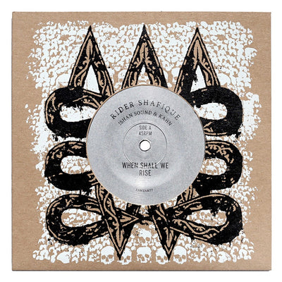 "Rider Shafique & Ishan Sound & Kahn - When Shall We Rise / When Shall We Dub [7"" Vinyl]"
