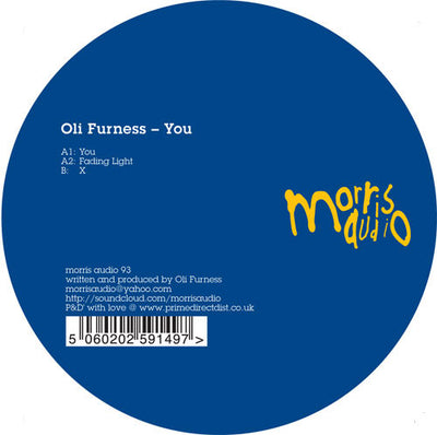 Oli Furness - You - Unearthed Sounds