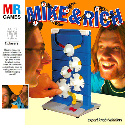 "Mike & Rich - Expert Knob Twiddlers [3x12"" Edition] - Unearthed Sounds"