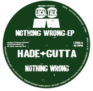 Hade & Gutta - Nothing Wrong - Unearthed Sounds