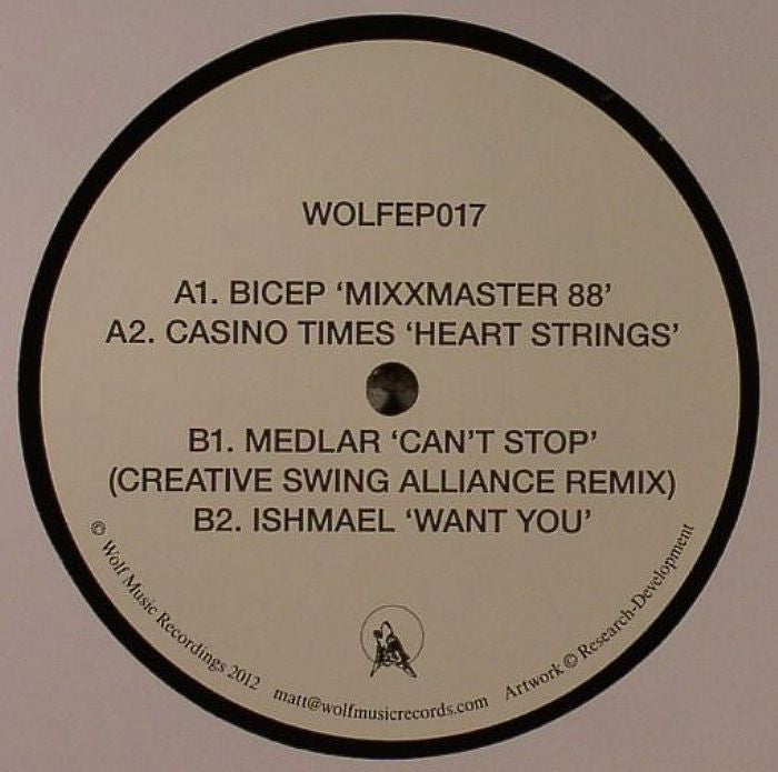 Various Artists - WOLFEP017 - Unearthed Sounds