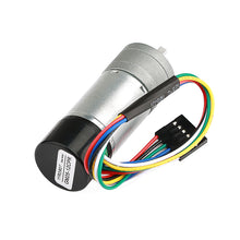 Load image into Gallery viewer, Metal Gearmotor GA25 12V with 16 CPR Encoder.