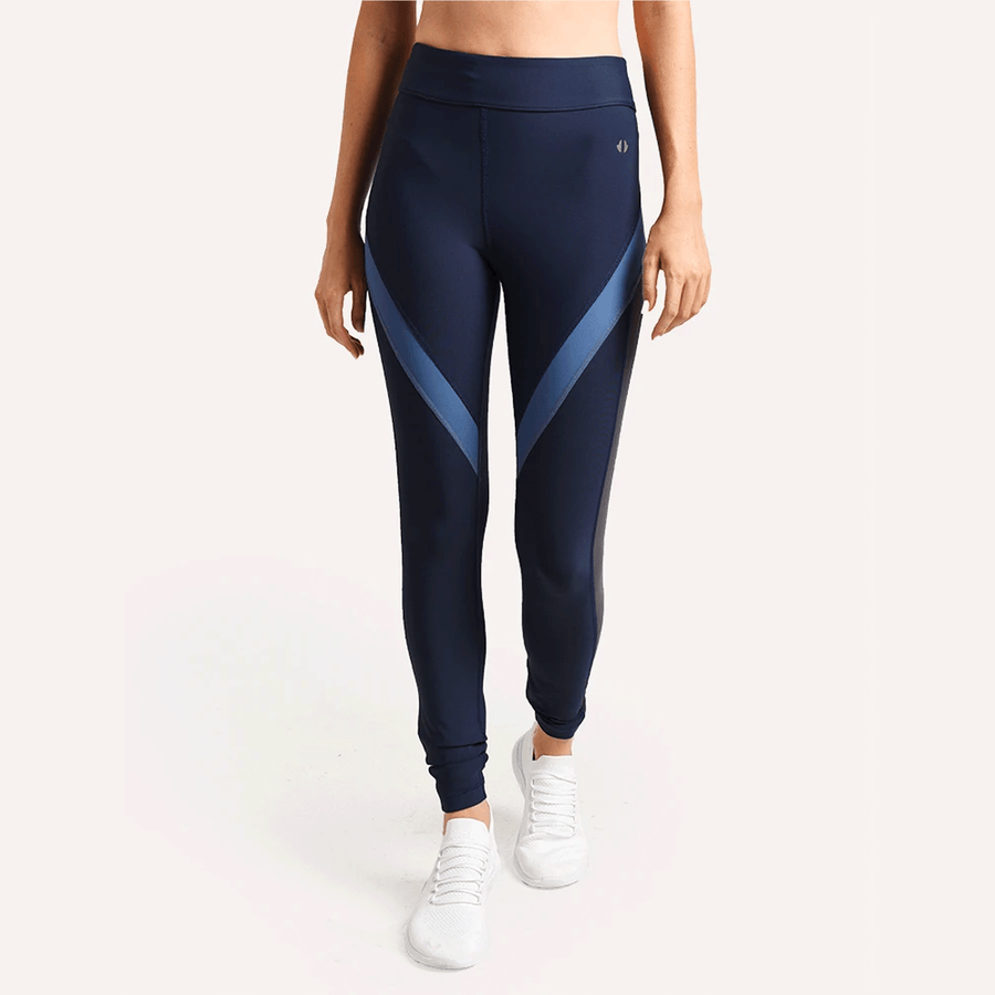 Thrive Société Blocked Out Legging Stone Blue