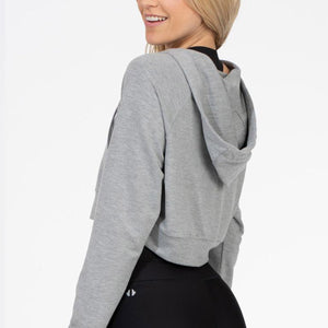 Thrive Société Basic Crop Sweatshirt