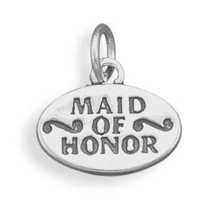 Maid of Honor Charm