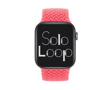 Pink Punch Braided Solo Loop for Apple Watch