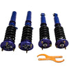 For BMW 5 Series E39 1995 - 2003 Shock Adjustable Height Suspension Kit Coilovers