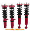 For BMW 5 series E60 Saloon 2004 - 2010 24 steps Adjustable Suspension Lowering Springs Coilovers