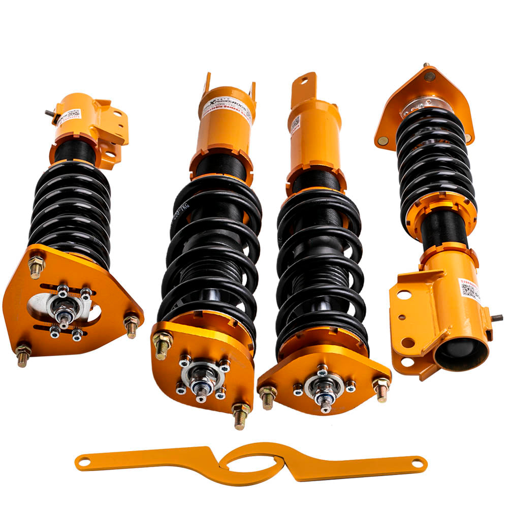 For Mitsubishi Lancer EVO 7 8 9 4G63 24 Ways Adjustable Coilover Shock Absorber Suspension Kits