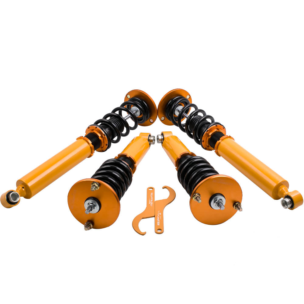 For Nissan Skyline GTST GT-R R33 RB25DET Adjustable Height Coilovers Suspension Kit