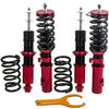 For Toyota Celica 2000-06 Suspension Coil Over Spring Shock Strut Red Coilovers