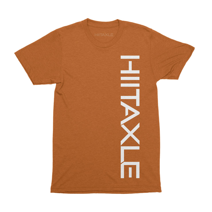 Unisex Orange Short Sleeve