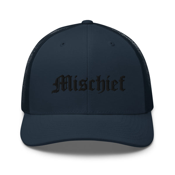 Logo-embroidered cotton-canvas trucker cap - Mischief