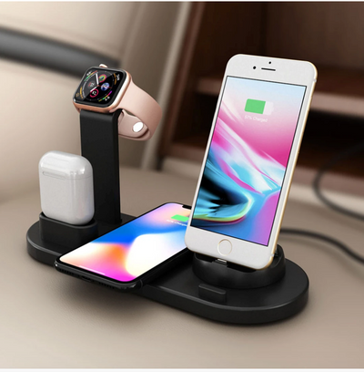 SuperCharge™ 4in1 Wireless Charging Station