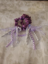 Load image into Gallery viewer, Midi Lilac Scrunchie with Streamers (3-pack)