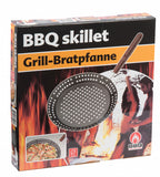 Bbq Collection Barbecuepan 32 Cm Staal Zwart/Rood