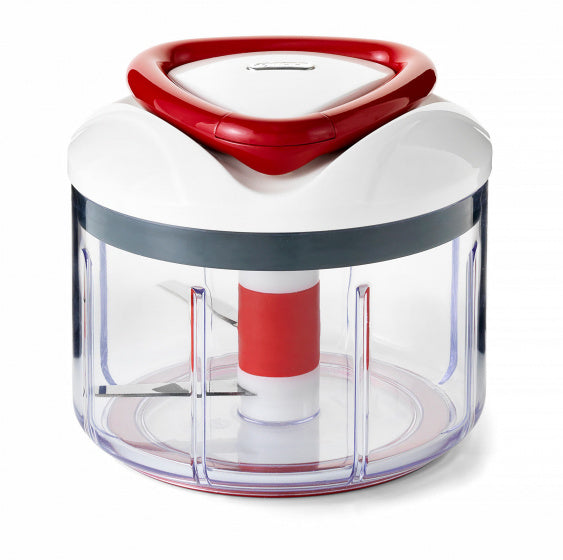 Zyliss Food-Processor Easy Pull 75 Cl Abs Wit/Rood