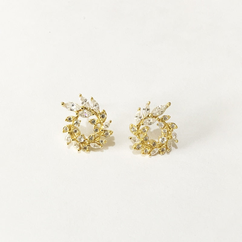 MANDY Wreath Earrings - Palmetto Reina