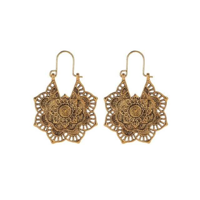 FATIMA Earrings - Palmetto Reina