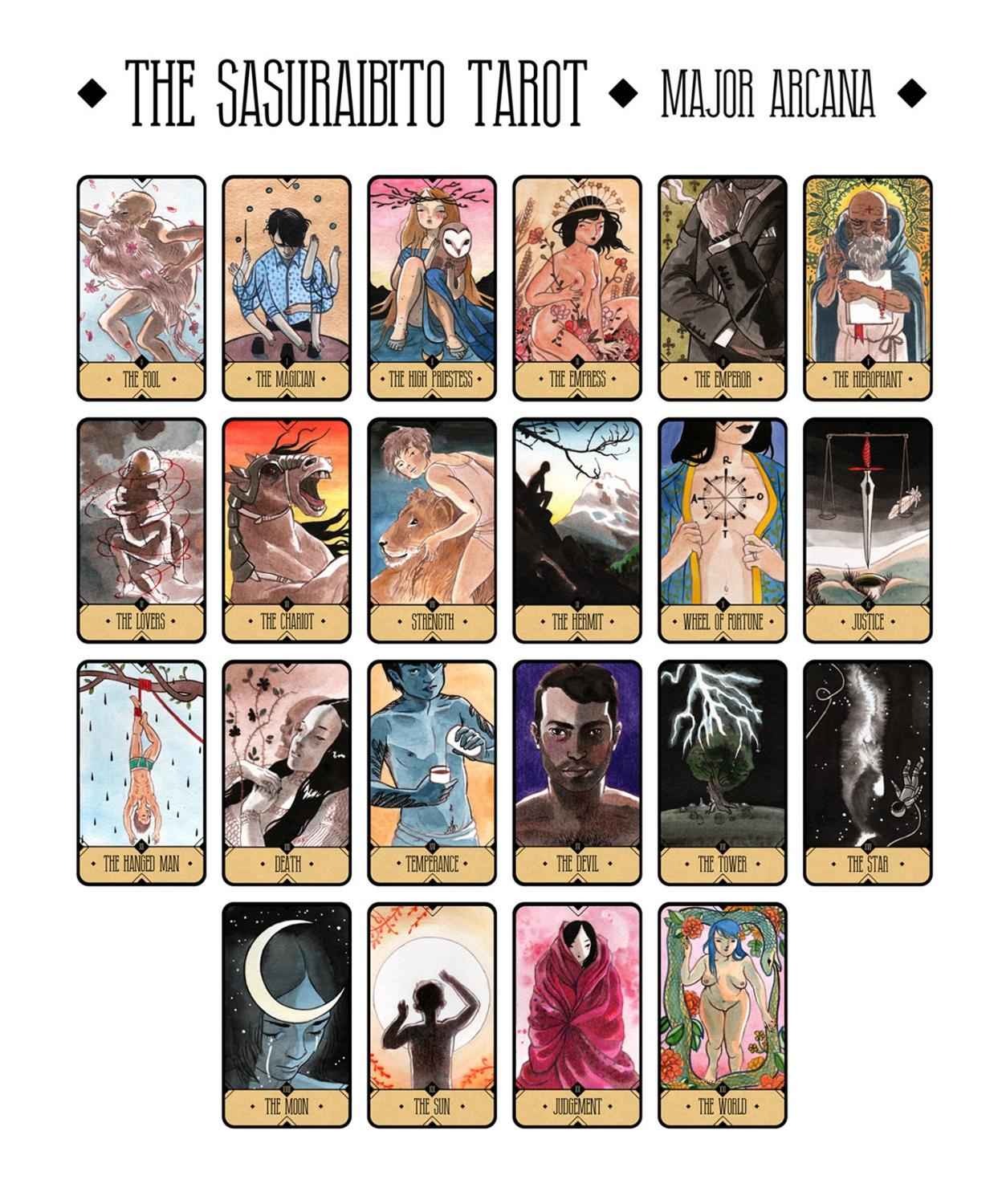 The Sasuraibito Tarot Deck