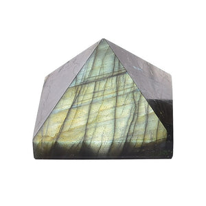 Natural Crystal Pyramid