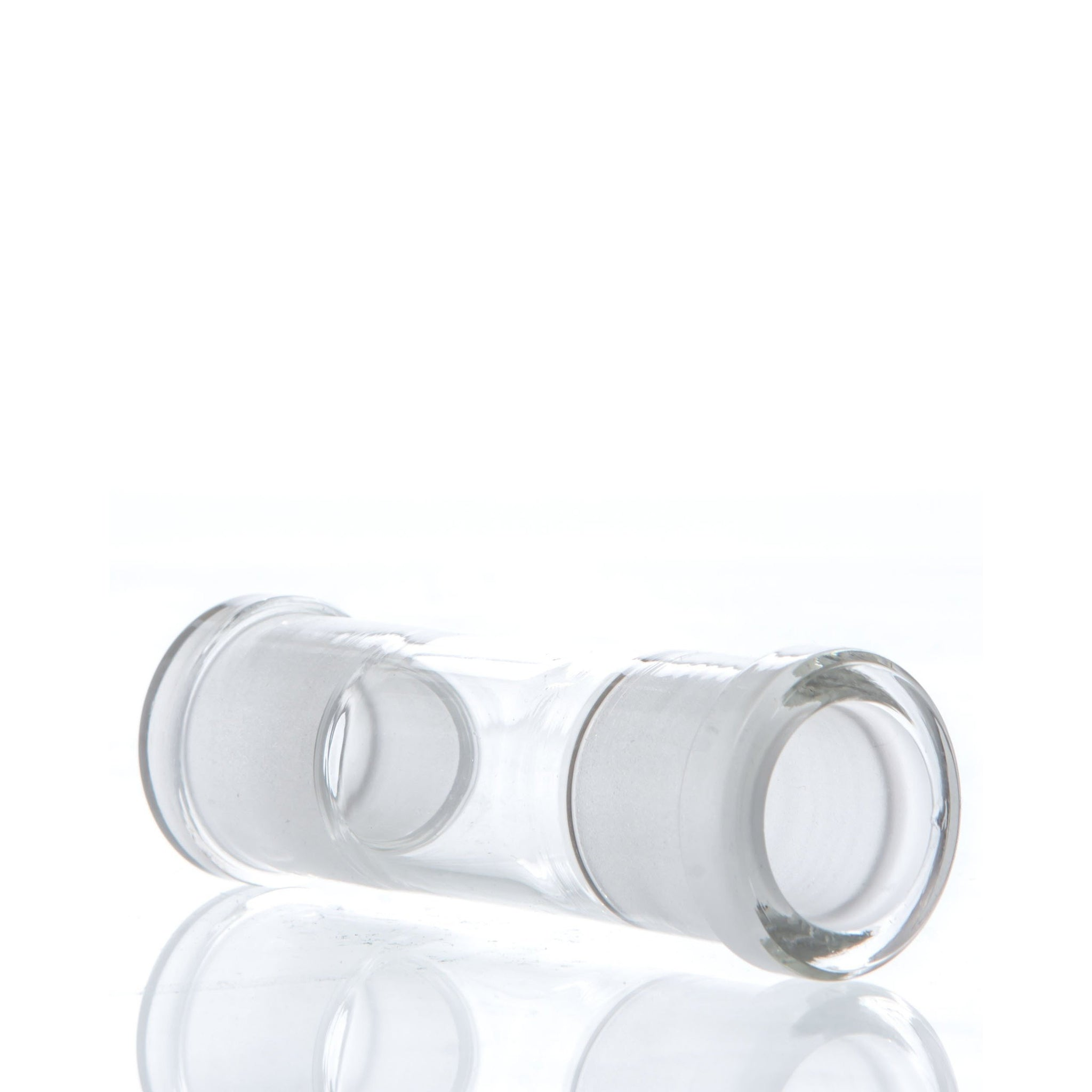 18mm Female to Female Glass Adapter