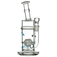 Thick Split Circle Perc Bong
