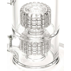 Double Stereo Perc Water Pipe