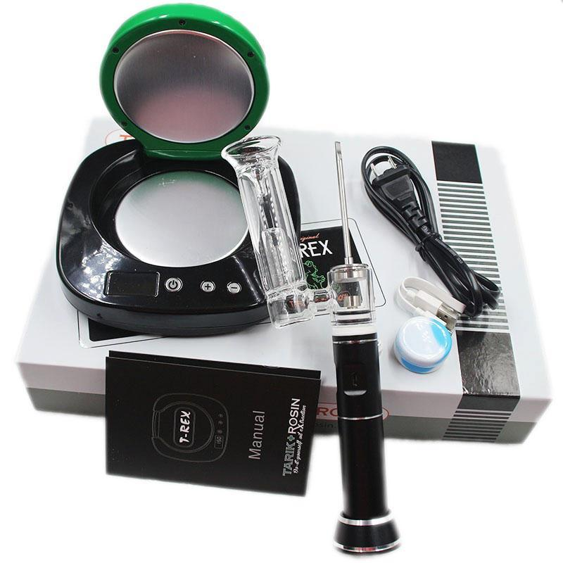 T-Rex Rosin Press & H-Enail Portable Enail Combo Kit