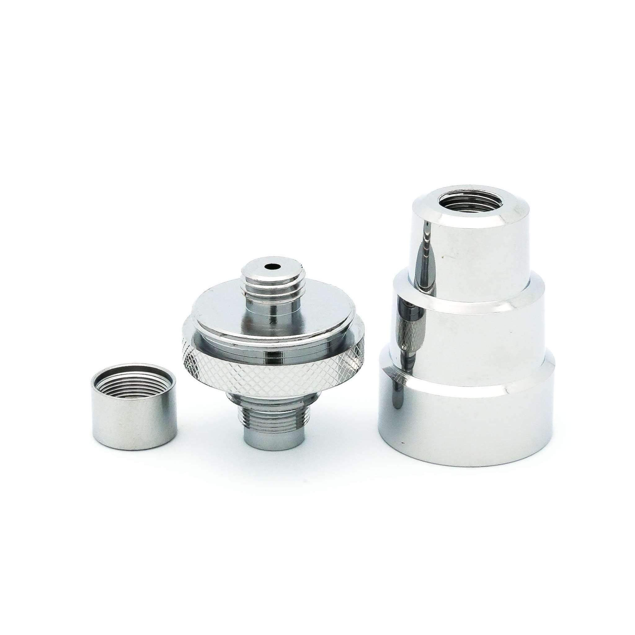 Universal Water Pipe Adapter For FlowerMate V5.0s/Pro (Male: 14mm & 18mm, Female: 10mm, 14mm & 18/19mm)