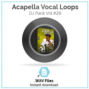 Acapella Vocal Loops Pack Volume