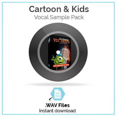 Cartoon Vocal Sample Pack