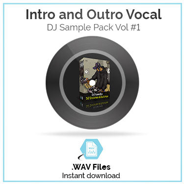 Intro and Outro Vocal Sample Pack Volume