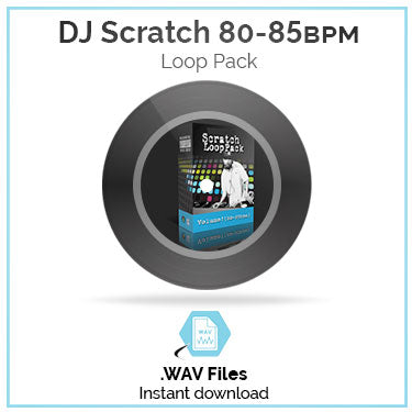 DJ Scratch Loop Pack 80bpm-85bpm