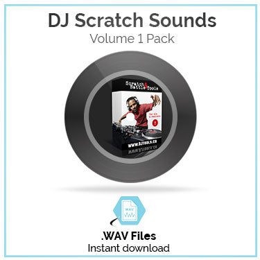 DJ Scratch Sounds Pack Volume