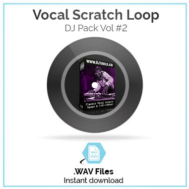 Vocal Scratch Loop Pack Volume