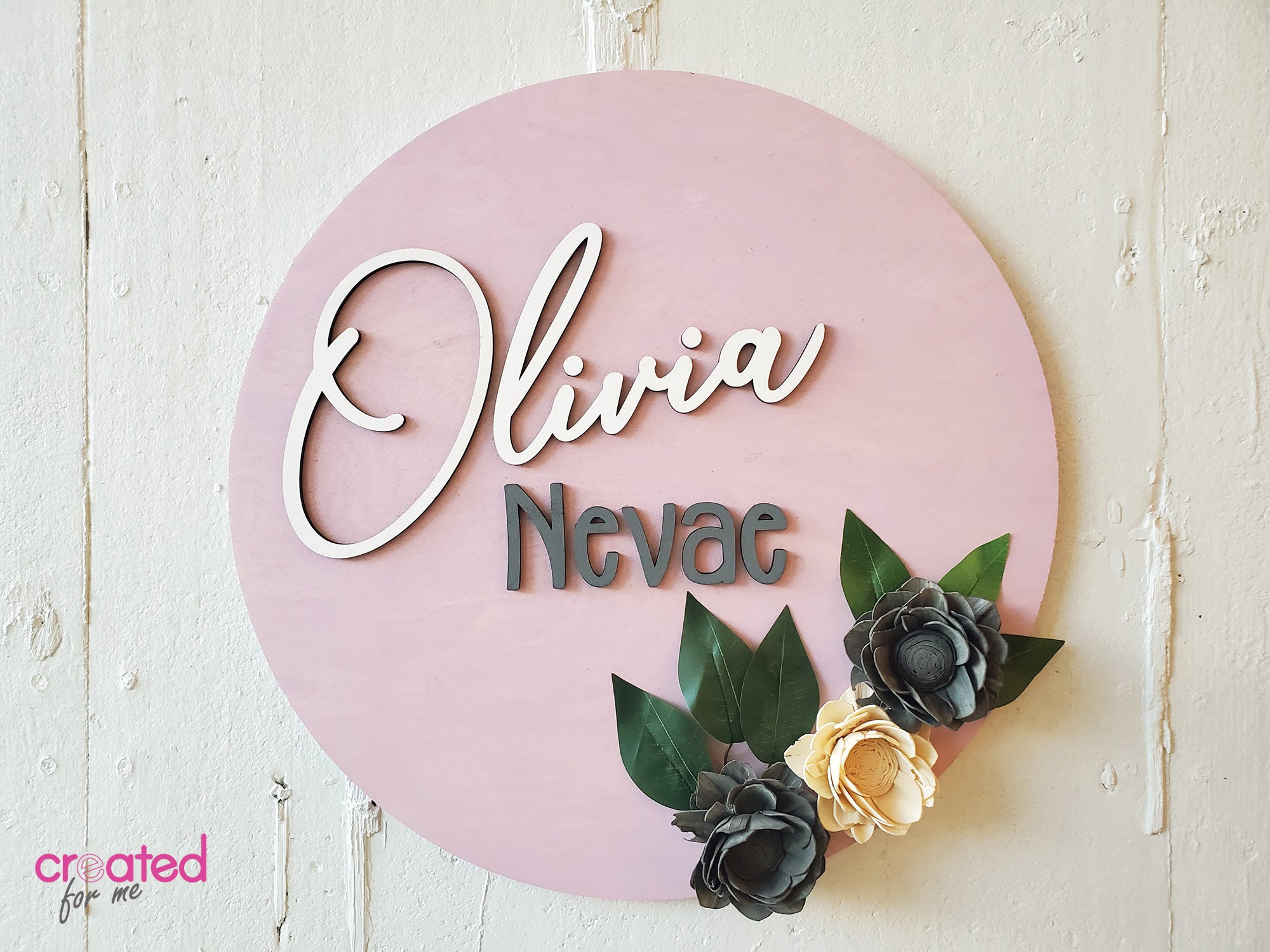 Nursery Name Sign