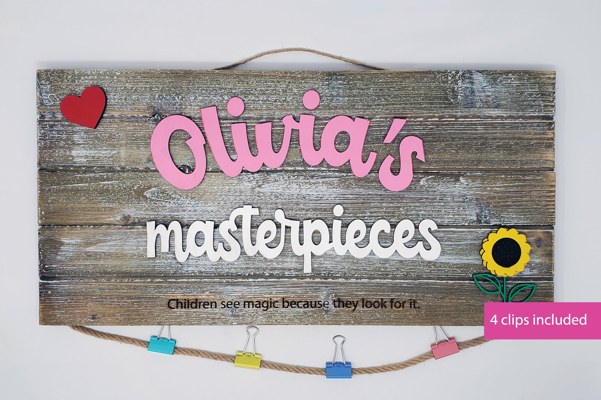 Child's Masterpiece Display Board