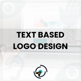 Load image into Gallery viewer, Text Based Logo Design