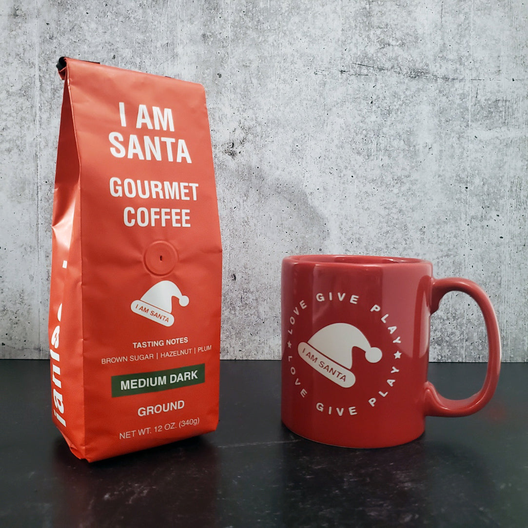 I am Santa - Gourmet Coffee and Mug Bundle
