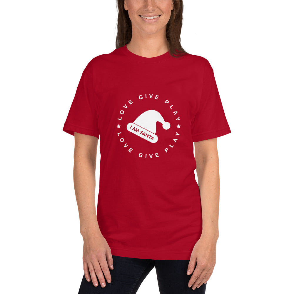 I am Santa - All American T-Shirt - Red