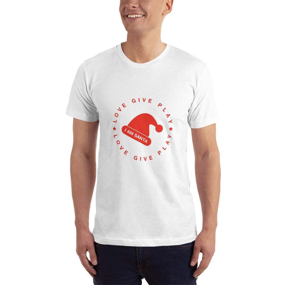 I am Santa - All American T-Shirt - White
